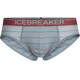 Icebreaker Anatomica Briefs Men vapour/vintage red/stripe
